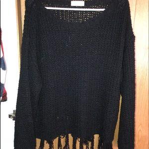 Altra'd State Black Sweater